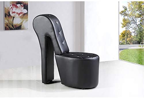 Editors' Choice: Best Master Furniture High Heel Faux Leather Shoe Chair