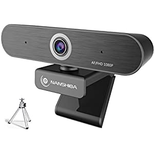 Flashandfocus.com 4155Xo9AcoL._SS300_ Full 1080P Webcam, Auto Focus Computer Camera, Face Cam with Dual Microphone for PC, Laptops and Desktop,90 Degrees…