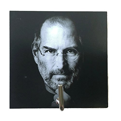 Agility Bathroom Wall Hanger Hat Bag Key Adhesive Wood Hook Vintage Steve Jobs's - Mount Glasses Drill Rimless