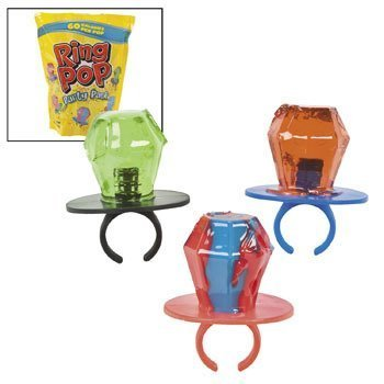 Ring Pop Party Pack - Easter & Easter Candy & Chocolate by O