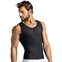 Leo Men's Abs Slimming Body Shaper with Back Support