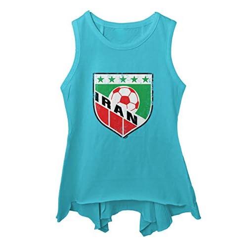 Distressed Badge Toddler//Youth Sleeveless Backswing Tcombo Iran Soccer
