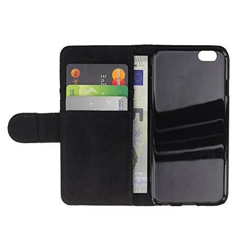 A-type (Black Discipline Black Text Inspiring Message) Colorful Impression Holster Cuir Wallet Cover Housse Peau Cas Case Coque Pour Apple Iphone 5 / 5S