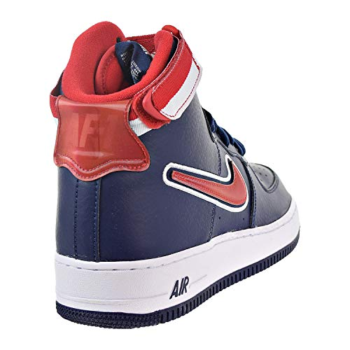 Force Navy midnight Da 1 Uomo Multicolore 400 Air High white Red Lv8 Nike Scarpe Sport university Fitness '07 qO758nwx