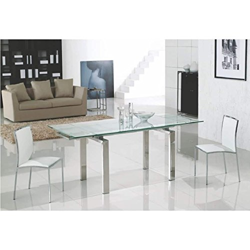 Modern Extendable Dining Table - 6