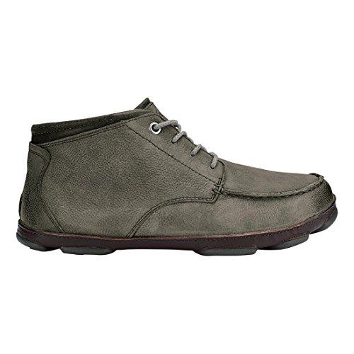 OluKai Hamakua Men's leather Boots Boots leather B01N5FGSRZ Shoes 496060