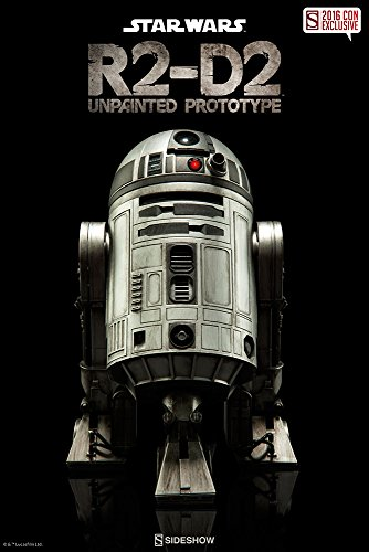 R2-D2 Unpainted Prototype Sixth Scale Figure by Sideshow Collectibles Limited Edition 2016 Comic Con Exclusive (Sdcc Limited Edition)