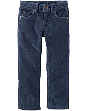 Baby Boys 5-Pocket Corduroy Pants