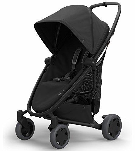 Quinny Zapp Flex Plus Stroller, Black on Black (Rebel System Travel)