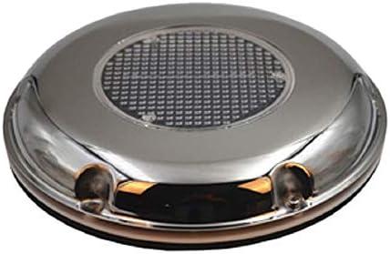 Nrpfell Ventilador de Escape Solar de Acero Inoxidable Caravana Canopy Escape RV Ventilador de Techo Ventilador de Escape de Barco
