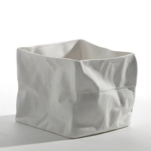 Serax - Photophore Porcelaine Froissée Kiki Serax