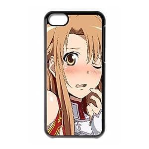 iphone5c Case, asuna swort art online Cell phone case Black for iphone5c - SDFG8755493