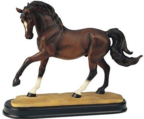 StealStreet SS-G-11432, Brown Horse Figurine Decor - Brown Figurine Horse