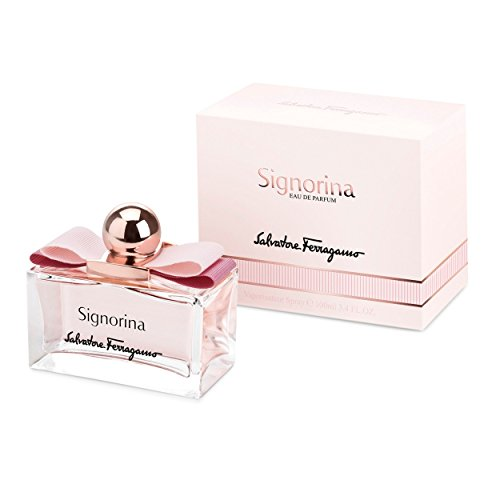 Salvatore Ferragamo Signorina Eau de Parfum Spray for Women, 3.4 Ounce
