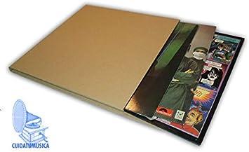10 Cajas DE Carton para EL Embalaje Y Envio DE Discos DE Vinilo ...