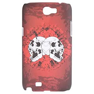 Skull Pattern Hard Case for Samsung Galaxy Note 2 N7100