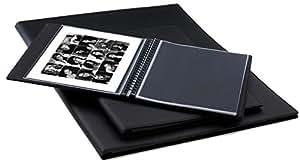 Artcare 10230160 - Carpeta para presentaciones (A4, 20 fundas transparentes), color negro