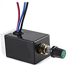 Universal DC 12V/24V Motor Speed Controller Switch For Car Truck Fan Heater Control
