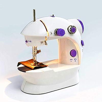Máquina de coser portátil Mini máquina de coser con máquina de ...