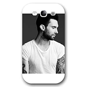 UniqueBox - Customized Personalized White Frosted Samsung Galaxy S3 Case, Adam Levine Samsung S3 case, Only fit Samsung Galaxy S3