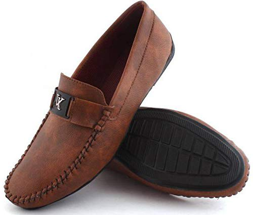 Walktoe Brown Mens Casual Loafers  Buy Online at Low Prices in India -  Amazon.in 320a36ca592a