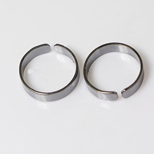 (Brass Adjustable Ring Setting Round Blank Vintage Ring Jewelry DIY Craft for)