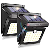 Luposwiten Solar Lights Outdoor 28 LEDs Motion