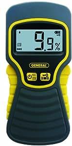 General Tools MMD5NP Moisture Meter, Pinless, Digital LCD
