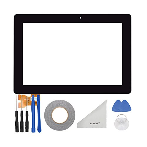 3CYYAP Replacement Digitizer Touch Screen Glass For ASUS Memo Pad Smart 10 ME301 K001 ME301T 5280N FPC1Tablet (Screen Memo Pad Asus Touch)