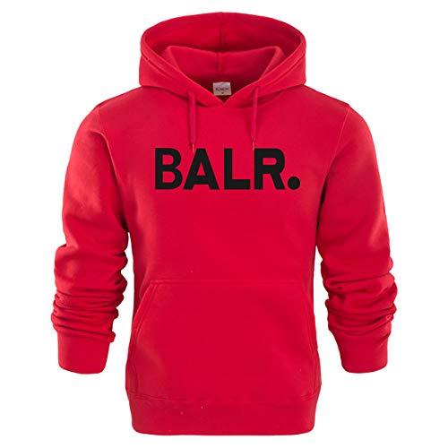 Capuche Baseball Chaud Imprimé Vrac Homme Red2 black1 D'automne W Uniforme Balr Pull m amp;tt En De À Sweats 1wx0qgt7