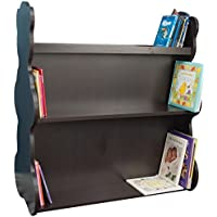 Ace Baby Furniture Bear Mobile Double-Sided Bookcase, Espresso Wenge