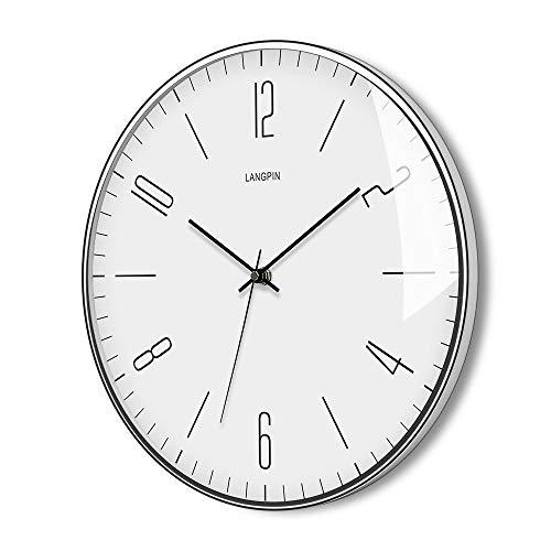 LANGPIN Silent & Non Ticking Modern Wall Clock 14 Inch- Batt