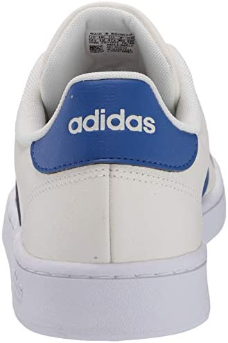 4155g4ofuvL. AC adidas Men's Grand Court Sneaker    A '70s style reborn. These men's shoes take inspiration from iconic sport styles of the past and move them into the future. They're crafted with a suede upper and leather-like details. Signature 3-Stripes flash along the sides. Plush midsole cushioning gives comfort to every step.