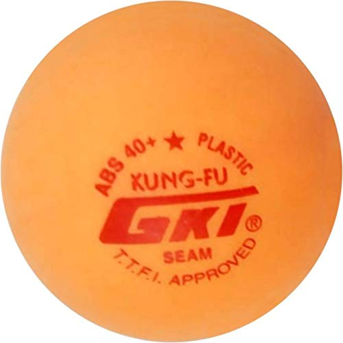 GKI KUNG-FU ABS Plastic 40 Table Tennis Ball, Pack of 12(Yellow) Price & Reviews