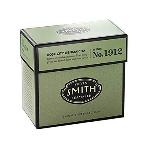 Smith Teamaker Blend No. 1912, Rose City Genmaicha, 1.26 Ounce