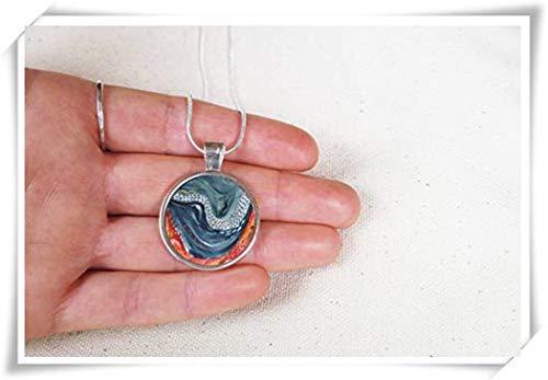 Scuba Diver Pendant,Scuba Dive Gift, Deep Sea Diver,Nature Jewellery ,Coral Reef Necklace Pendant , Scuba Diver Necklace