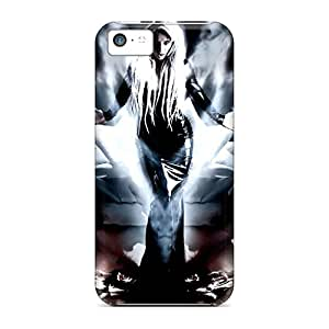 Hot Style QFl7799oDYJ Protective Cases Covers For Iphone5c(dark Angel)