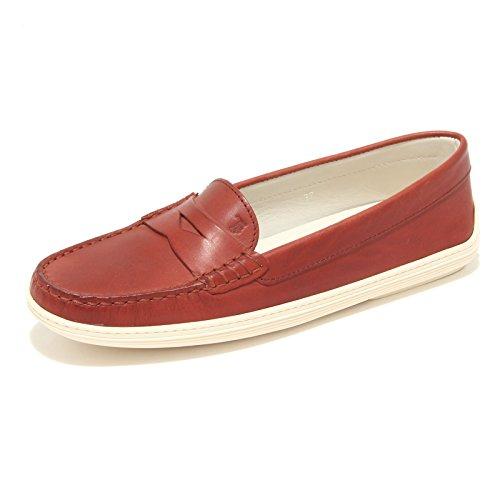fde02f52e Mocassini 8063l Rosso Women Scarpe Loafers Shoes Donna Marlin Tod's ...