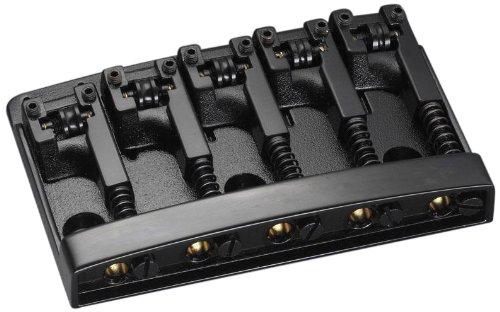 Model 5 String Bass - Shaller Bass Bridge Black Chrome - 3D-5 Model - 5 string