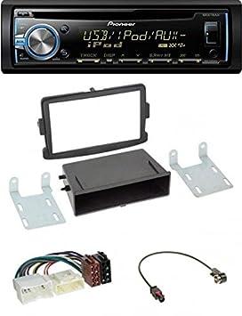 Pioneer deh-x3800ui CD USB MP3 AUX 1DIN Radio de coche para Dacia Dokker, Duster, LOGAN: Amazon.es: Electrónica
