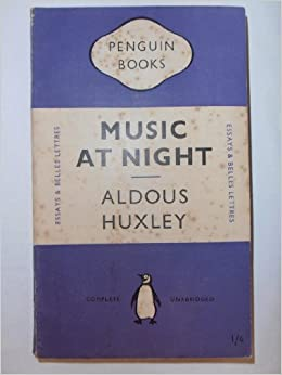 Music at night and other essays