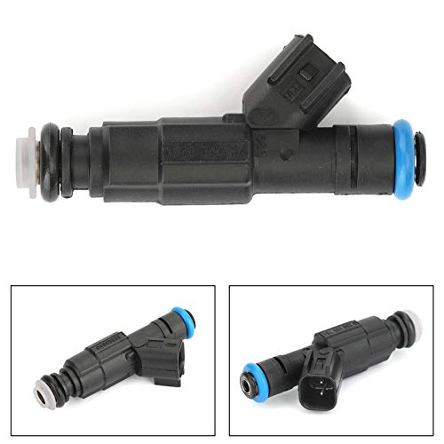 Bruce & Shark 1PC 4-Hole Upgrade Fuel Injectors for J-e-e-p Grand Cherokee for J-e-e-p Wrangler 2004 for Dodge Ram 2500 Van Base Extended 2003 (Jeep Grand Cherokee Difference Between Laredo And Limited)