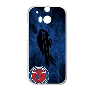 Buffalo Bills Team Logo HTC One M8 Cell Phone Case White persent zhm004_8452450
