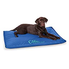 K&H's most comfortable cooling bed to date! No electricity is required to operate the orthopedic Coolin' Comfort Bed. Attractively designed to provide a cool spot for dogs. Simply add water just once through the easy fill cap and adjust c...
