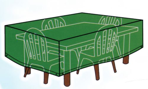Telo copertura poliestere tavoli rettangolari sedie 13209 tavolo 200 x 100 x70h