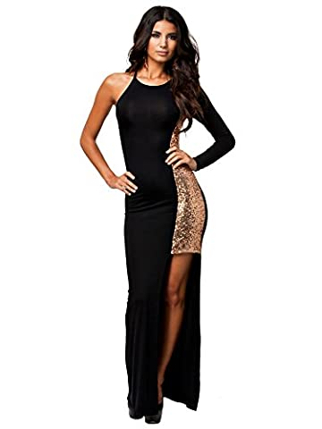 KSHUN Womens dresses Casual sequin split Sexy Cocktail Party Club Dress - Cocktail Dress Jacket