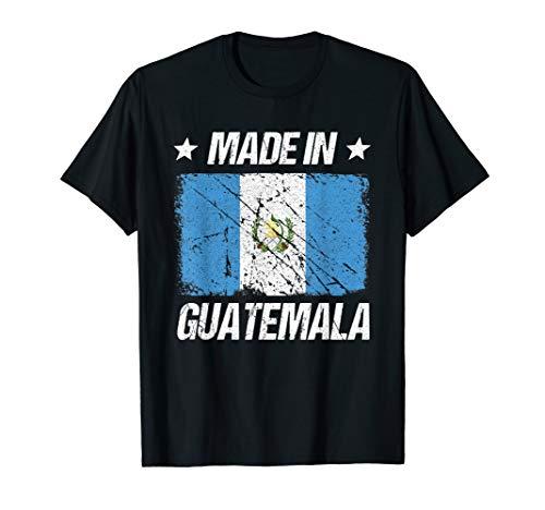 Guatemala Flag T-shirt - Made In Guatemala T-Shirt Guatemala Flag Tee