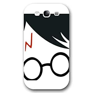 UniqueBox - Customized Personalized White Frosted Samsung Galaxy S3 Case, Harry Potter Samsung Galaxy S3 case, Harry Potter Hogwarts Marauders Map Samsung Galaxy S3 case, Only fit Samsung Galaxy S3