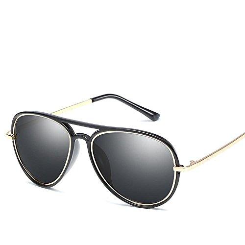 gafas de tendencia general sol de shing Moda de gafas sol metal HD hombre B gafas dama Aoligei polarizado sol zPqwvqOT