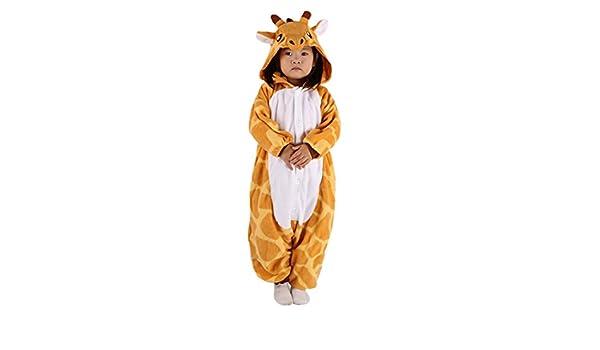 175c55a1f2 Jirafa Cosplay Animales Pijamas Enteros Niño Niña Invierno Novedad Navidad  Traje Disfraz  Amazon.es